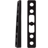 Khiro 3° Angled Wedge Rail Risers