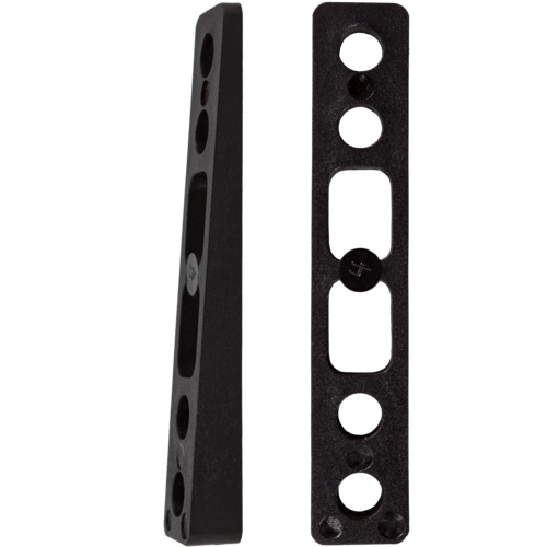 Khiro 4° Angled Wedge Rail Risers