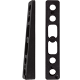 Khiro 5° Angled Wedge Rail Risers
