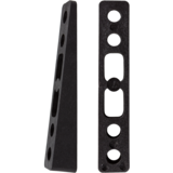 Khiro 7° Angled Wedge Rail Risers