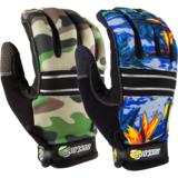 Sector 9 BHNC Camo Slide Gloves + Palm Pucks