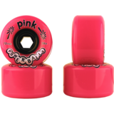 72mm Pink Powerballs Longboard Skateboard Wheels