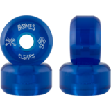 60mm Bones Clear Blue - SPF - Skateboard Wheels