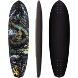 Valhalla Sell Out Longboard Skateboard Deck w/ Grip