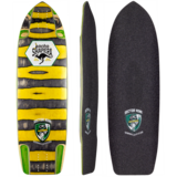 Sector 9 2018 Downhill Division Jacko Pro Model Longboard Skateboard Deck w/ Grip