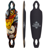 "Landyachtz 2016 Battle Axe 35"" Eagle Natural Stain Longboard Skateboard Custom Complete"