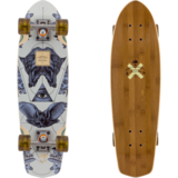 Arbor 2017 Pocket Rocket - Bamboo Collection - Pre-Assembled Mini Longboard Skateboard Complete
