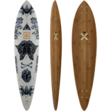 Arbor 2017 Fish - Bamboo Collection - Longboard Skateboard Deck w/ Grip