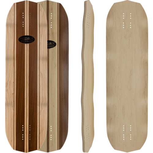 Honey Slab Bacon Longboard Skateboard Custom Complete