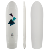 Prism Insight Longboard Skateboard Deck w/ Grip