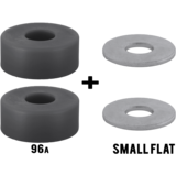 RipTide KranK Short Street Barrel + Washers Longboard Skateboard Bushings Pack