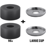 RipTide KranK Street Barrel + Washers Longboard Skateboard Bushings Pack