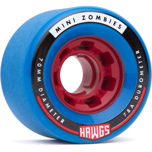70mm Mini Zombie Hawgs Longboard Skateboard Wheels