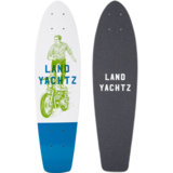 "Landyachtz Mini Dinghy 24"" Ghost Ride Mini Longboard Skateboard Custom Complete"