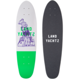 "Landyachtz Mini Dinghy 26"" Cannon Longboard Skateboard Deck w/ Grip"