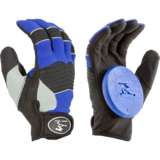 Timeship Racing Freerider Red Slide Gloves + Palm Pucks