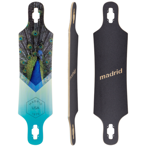 Madrid Spade ARC Longboard Skateboard Deck w/ Grip