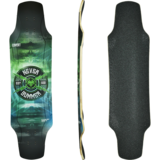 Never Summer Covert Longboard Skateboard Custom Complete