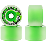 70mm Sector 9 Cosmic Core Clear Butterballs Longboard Skateboard Wheels