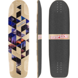 Eastside Relic Longboard Skateboard Deck w/ Grip
