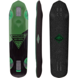 Madrid Nessie Longboard Skateboard Deck w/ Grip