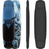 Madrid Yeti Longboard Skateboard Deck w/ Grip