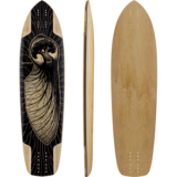 Pantheon Embryo Longboard Skateboard Deck w/ Grip