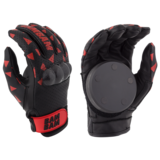 Bam Bam Pro Leather Slide Gloves w/ Pucks