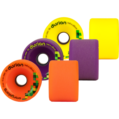 75mm Orangatang Durian - Freeride Longboard Skateboard Wheels