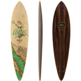 Arbor Fish - Groundswell Series - Longboard Skateboard Custom Complete