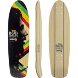 Sector 9 Bob Marley Natty Dreads Longboard Skateboard Deck w/ Grip
