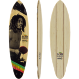 Sector 9 Bob Marley Small Axe Longboard Skateboard Deck w/ Grip