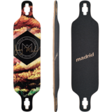 Madrid Trance Longboard Skateboard Deck w/ Grip