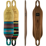 Arbor Axis - Flagship Series - Longboard Skateboard Deck w/ Grip