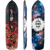 Omen Killjoy Longboard Skateboard Deck w/ Grip