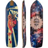 Omen The Spawn V-2 Longboard Skateboard Deck w/ Grip