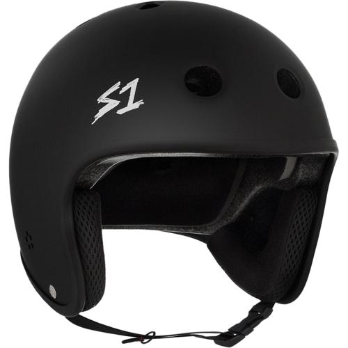 S-One Retro Lifer Helmet - Black Matte