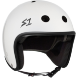 S-One Retro Lifer Helmet - White Gloss