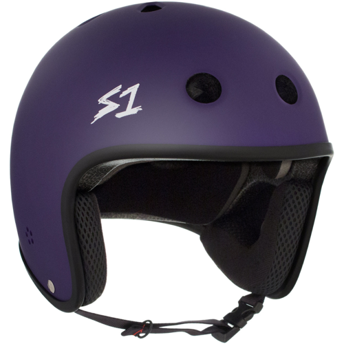 S-One Retro Lifer Helmet - Purple Matte