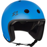 S-One Retro Lifer Helmet - Cyan Matte