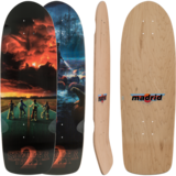 Madrid Stranger Things 2 Poster Skateboard Custom Complete