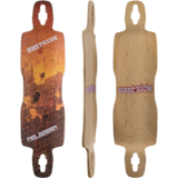 Eastside Blazer V2 Drop-Thru Longboard Skateboard Deck w/ Grip