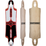 Earthwing Drop-Thru Supermodel 3D Longboard Skateboard Deck with Grip