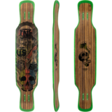 Moonshine MFG 2018 Infuser Longboard Skateboard Deck w/ Grip
