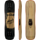 Moonshine MFG Hooch Longboard Skateboard Deck w/ Grip
