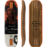 Moonshine MFG 2018 Rum Runner Longboard Skateboard Deck w/ Grip