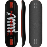 Moonshine MFG 2018 Carbon Rum Runner Longboard Skateboard Deck w/ Grip