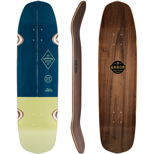 Arbor Hybrid - Foundation Series - Longboard Skateboard Deck w/ Grip