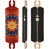 Pantheon 2018 8 Ply Trip Longboard Skateboard Deck w/ Grip