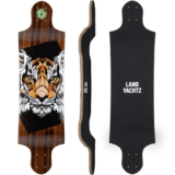 Landyachtz Switch 35 Tiger Longboard Skateboard Deck w/ Grip
